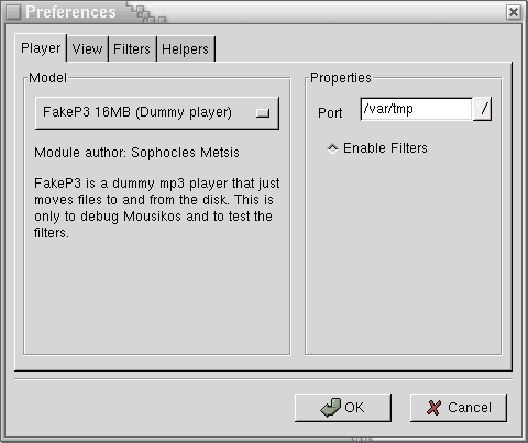 player prefs window